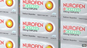 Nurofen packets