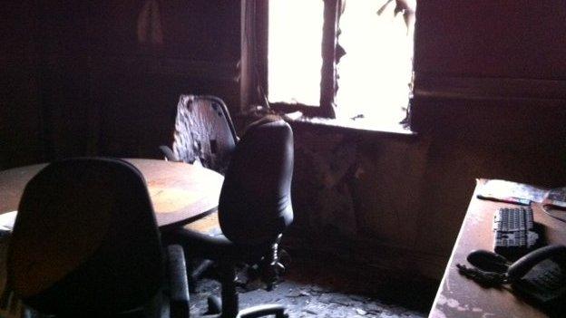 Office damage