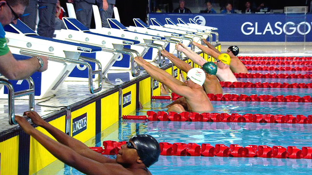 Glasgow 2014: Swimmer Steven Miana picks wrong lane