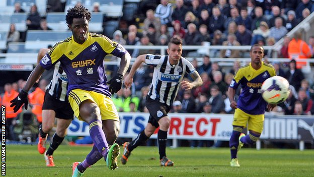 Wilfried Bony of Swansea City