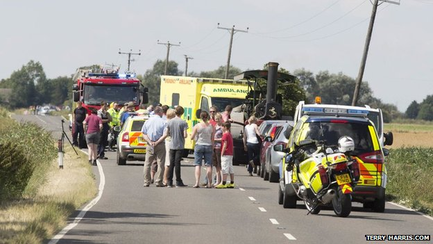 Accident at Circuit of the Fens