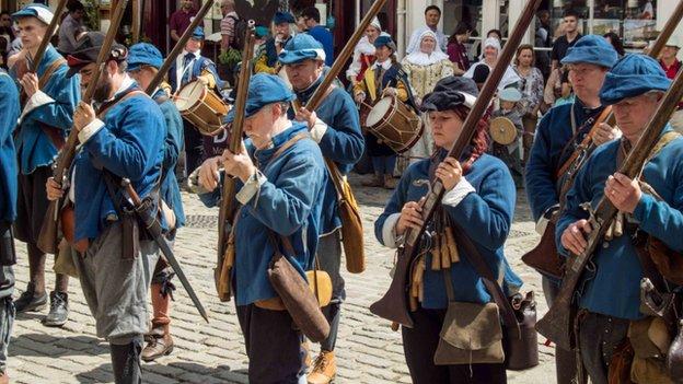 Prince Rupert's Blew Regiment of Foote