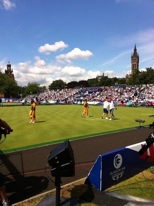 Scotland in lawn bowls final