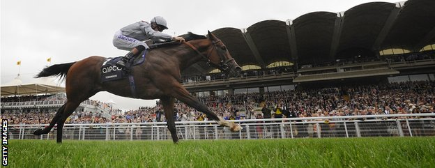 Toronado winning the Sussex Stakes at Goodwood in 2013