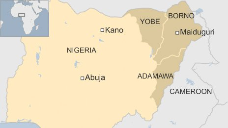 76575051 nigeria kano borno cameroon Nigerian mutiny over Boko Haram