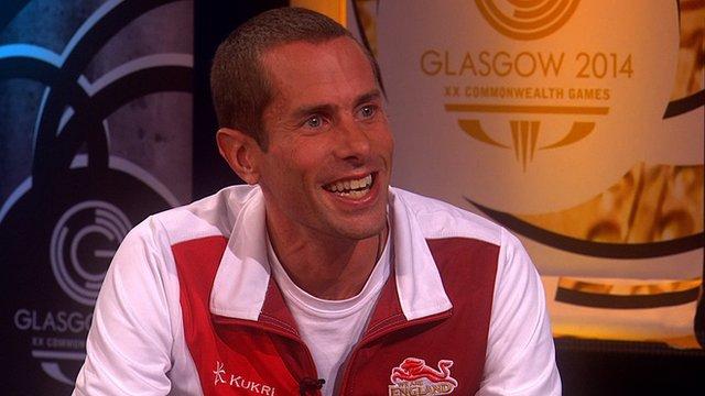 England marathon runner Steve Way