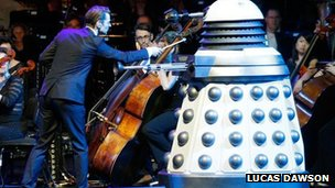 dalek on stage