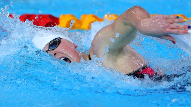 Sycerika McMahon finished 14th in the 200m butterfly heats on Monday morning