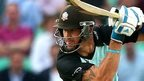 Kevin Pietersen in action for Surrey