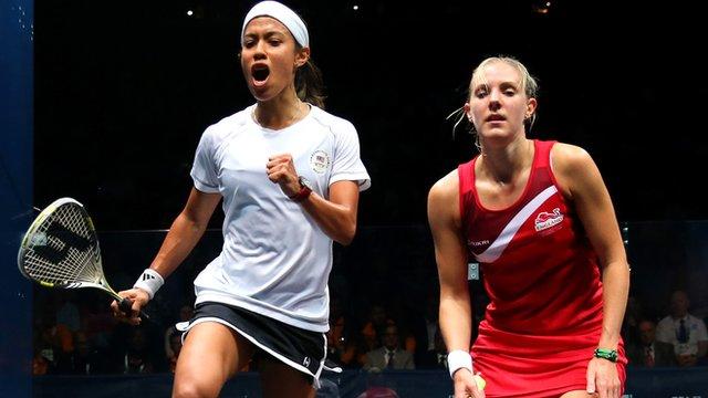 Malaysia's Nicol David beats England's Laura Massaro