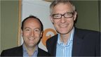 Dave King of Digitalis with the BBC's Jeremy Vine