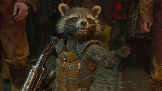 'Rocket Raccoon' in Guardians of the Galaxy