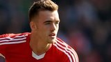 Arsenal's new singing Calum Chambers pictured while playing for Southampton