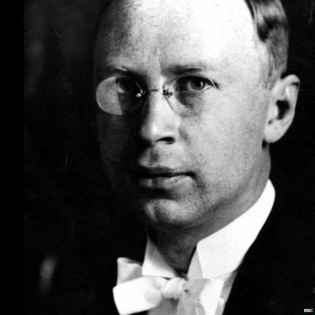 Composer Sergei Prokofiev