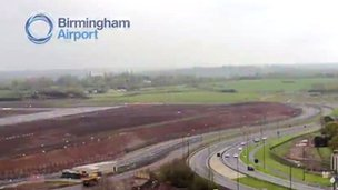 Runway extension at Birmingham Airport