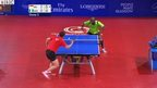 2 table tennis players at the Commonwealth Games
