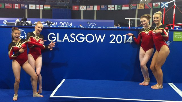 Isle of Man gymnasts
