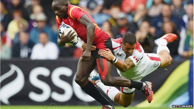uganda in the rugby sevens