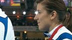 Highlights - medal ceremony for Libby Clegg T2 100m gold