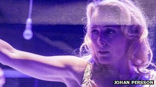 Gillian Anderson in Streetcar Named Desire