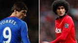 Fernando Torres and Marouane Fellaini
