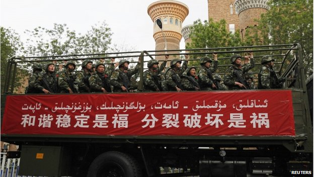 Deadly violence hits China's Xinjiang...