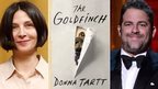 Donna Tartt, the cover of The Goldfinch and Brett Ratner
