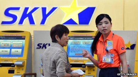 Skymark check in