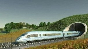 Still from HS2 animation