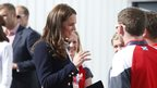 Duchess of Cambridge at National Hockey Cente