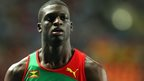Grenada 400m athlete Kirani James