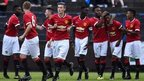 VIDEO: Man Utd win 11-0 at Milk Cup