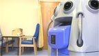 Vaporiser machine nicknamed the 'Dalek'