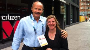 david wilkie with lisa summers