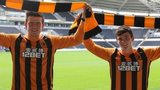 Harry Maguire and Andrew Robertson sign for Hull City