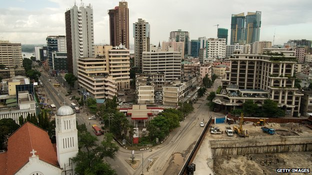 Skyline of Dar es Salaam