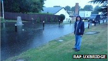 Flooding at the RAF Uxbridge bunker