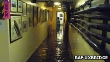 Flooding at RAF Uxbridge