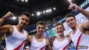 england gold winning team commonwealths 2014