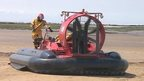 Avon Fire and Rescue Service hovercraft