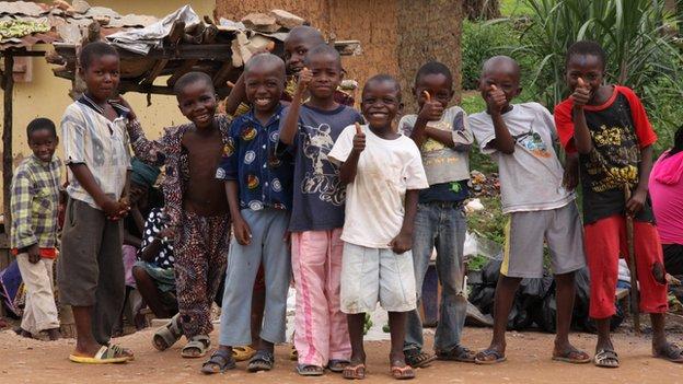 Children in Gueckadou