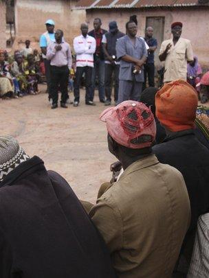Teaching villagers