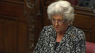 Former Commons speaker Baroness Boothroyd