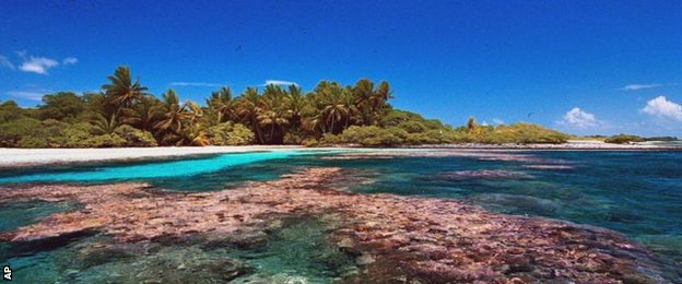 Some scientists say the sea could consume Kiribati within 30 years