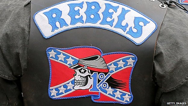 Australia Rebels Motorcycle Club jacket