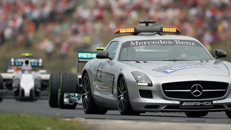 Safety Car at Hungary GP