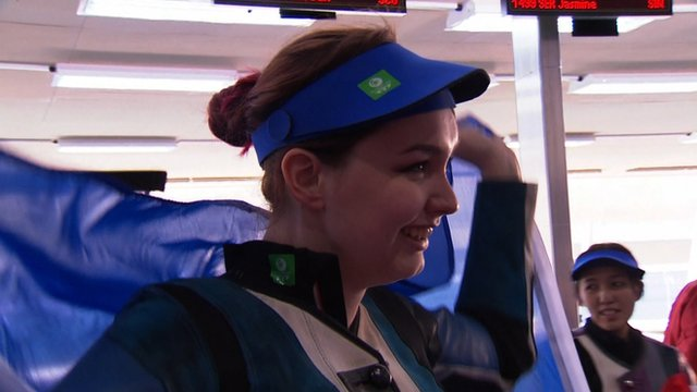Jen McIntosh claims silver in 50m rifle three positions