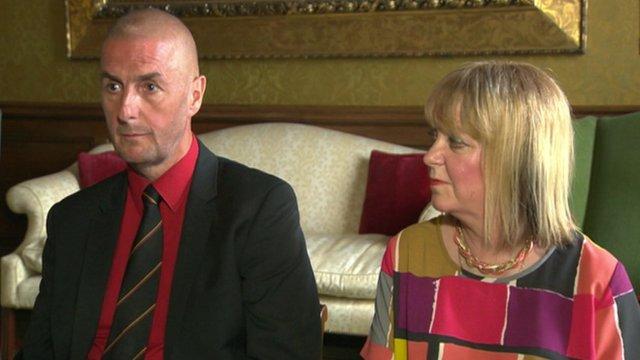 Barry and Angela Sweeney