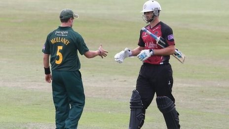 Tim Groenewald (right) and Jake Mullaney