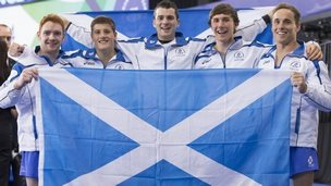 Scottish men's gymnastics team